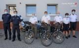Ruszają policyjne patrole rowerowe w powiecie lublinieckim. Funkcjonariusze otrzymali trzy jednoślady