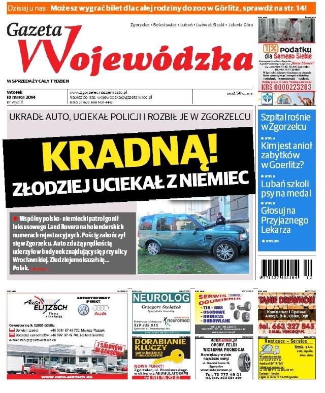 Gazeta Wojewódzka - 18-24.03