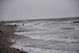Grudniowa plaża w Wiciu (gmina Darłowo) - ZDJĘCIA