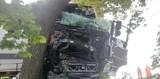 Groźny wypadek w miejscowości Pachoły - jedna osoba ranna, poważne utrudnienia w ruchu