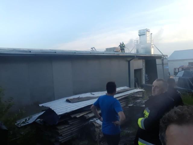 Akcja gaśnicza w Szerzynach
