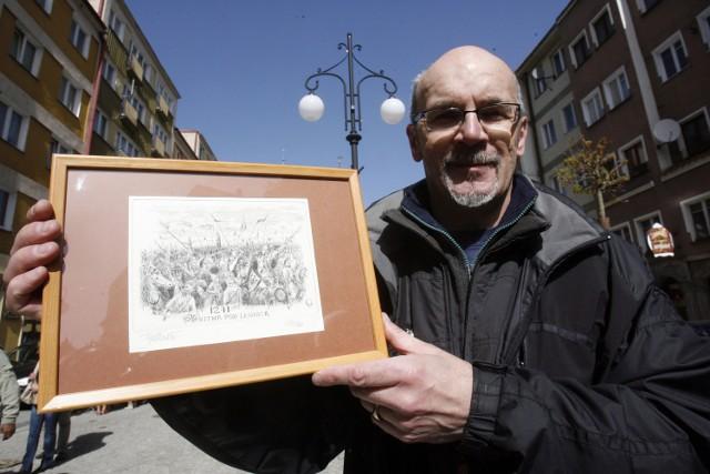 Grzegorz Fijałkowski wystawi swoje prace w Chojnowie