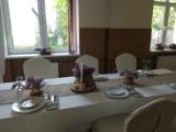 Wystrój sali, stołu, kwiaty - styl eko na I komunię św. Wykorzystacie pomysły? Zdjęcia