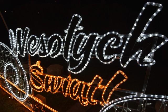 Świąteczna iluminacja Piła 2020