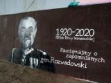 Zniszczono mural gen. Rozwadowskiego. Fundatorzy zapowiedzieli, że będzie odnowiony