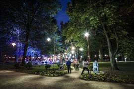 łazienki Królewskie Festiwal światła Koncerty Plenerowe