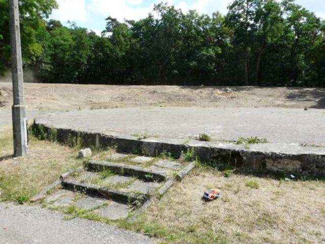 przebudowa amfiteatru w parku Wolności