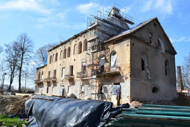 Pałac w Baranowicach będzie gotowy później  Zobaczkolejnezdjęcia. Przesuwajzdjęcia w prawo - naciśnij strzałkę lub przycisk NASTĘPNE