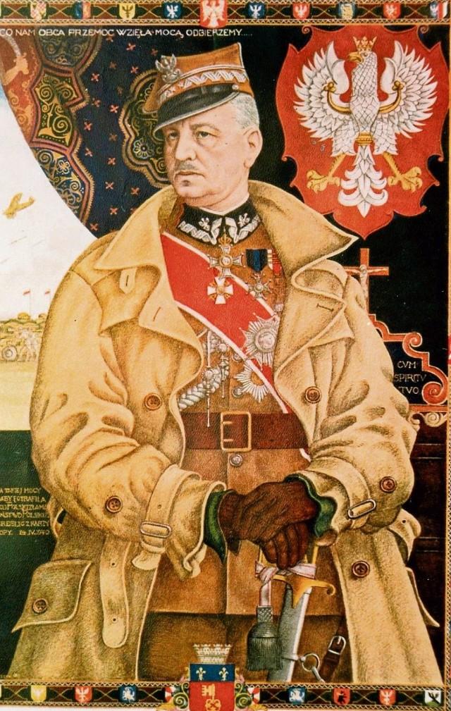 Portret alegoryczny gen. Władysława Sikorskiego