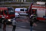 Kraków. Wypadek na rondzie Grunwaldzkim [ZDJĘCIA]