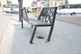 Bochnia. Ławka na ulicy Solnej została uszkodzona. Czy będzie wymieniona na nową? [ZDJĘCIA]