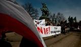 """W Gdańsku odbył się wiec """"Nie! dla imigrantów""""  [ZDJĘCIA, WIDEO]"""