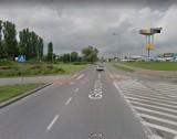 Tragiczne w skutkach potrącenie na rondzie Górczyńskim w Gorzowie. Pierwszej pomocy udzielali policjanci. Mężczyzna zmarł w szpitalu