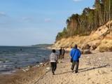 Piękna pogoda w regionie sprzyja rekreacji. Fotorelacja z wycieczki Ustka - Rowy