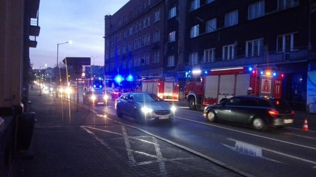 Straż pożarna na Mikołowskiej
