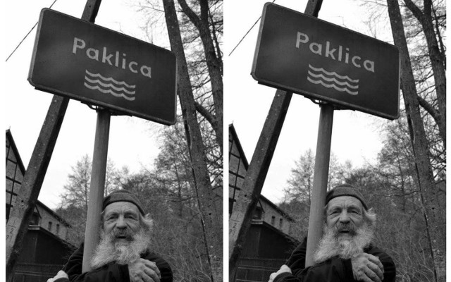 """W 2016 roku Aleksander Doba popłynął w """"X Spływie Twardzieli"""", trasą Lubrza – Gościkowo (przez Paklicę)"""