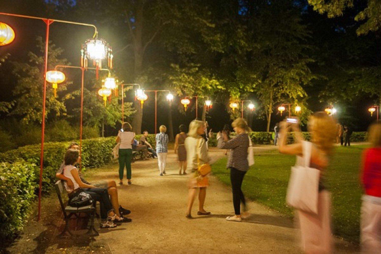 Otwarcie Nowego Ogrodu Chińskiego I Iii Festiwal Lampionów