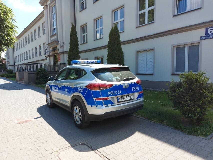 Alarmy bombowe w dwóch placówkach oświatowych w Wieluniu