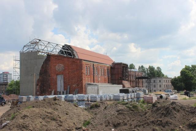 Centrum Sportów Wspinaczkowych w Bytomiu na zdjęciach. Coraz bliżej zakończenie budowy kompleksu. Zobacz zdjęcia >>>