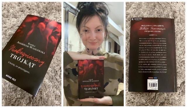 """Kamila Andrzejak-Wasilewska na początku przyszłego roku wyda odważną książkę o tematyce erotycznej pod tytułem """"Niebezpieczny trójkąt""""."""