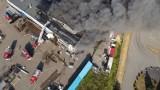 Pożar w Kowalewie. Na miejscu ponad stu strażaków [zdjęcia]