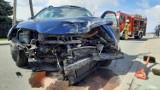 Wypadek w Kaliszu. Zderzenie dwóch aut na ulicy Korczak. ZDJĘCIA