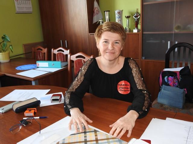 Edyta Siergiejuk, prezes ZNP w Bielsku Podlaskim