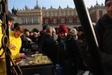 Wielki wigilijny stół na Rynku Głównym jak zwykle zorganizował Jan Kościuszko