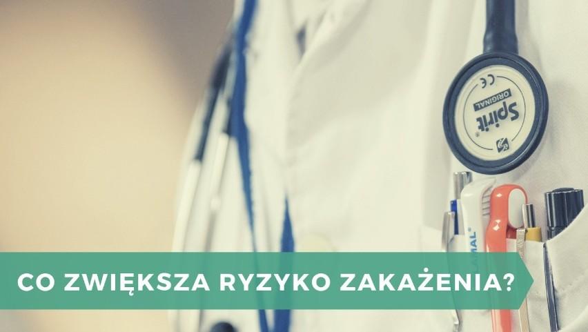 Oprócz stanu pacjenta, ryzyko zakażeń szpitalnych zwiększyć...
