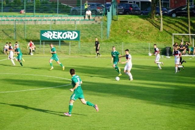W finale Pucharu Polski na szczeblu Śląskiego Związku Piłki Nożnej Rekord Bielsko-Biała wygrał z Górnikiem II Zabrze 7:1 (4:0).