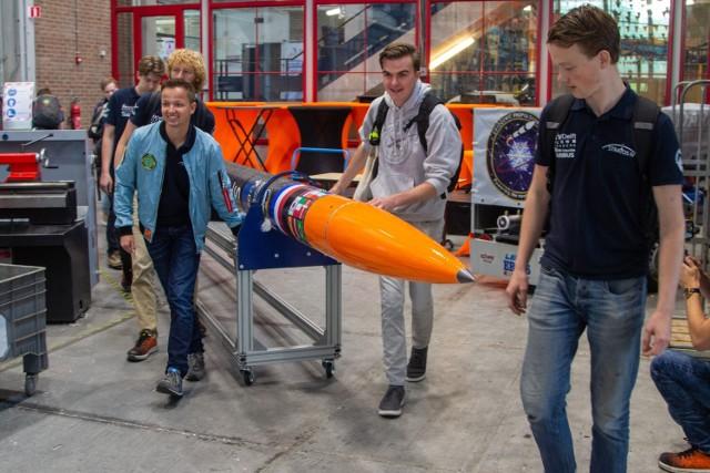 Prezentacja rakiety Stratos IV