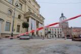 Lublin. Część deptaka zagrodzona taśmą. Co stało się na Krakowskim Przedmieściu? Zobacz zdjęcia