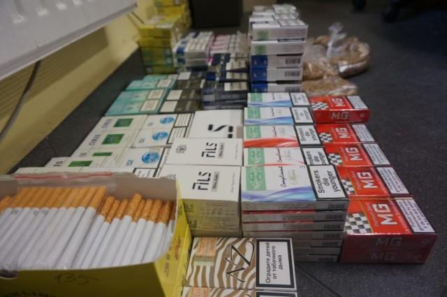 W dzielnicy Klachowiec nielegalnie handlowano papierosami i alkoholem