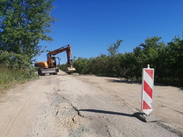 Koszt remontu ulicy Chwałeckiej, która zostanie zmodernizowana na odcinku 582 metrów  wyniesie 210 tysięcy złotych.