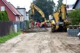 Trwa przebudowa ulicy Polnej i Traugutta wraz z Placem Traugutta w Sławnie