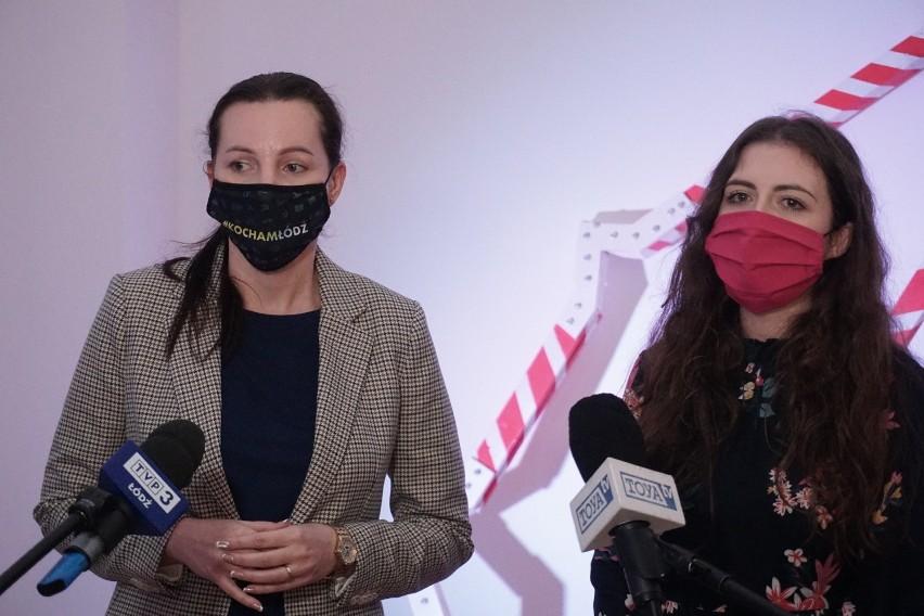 Wiceprezydent Małgorzata Moskwa-Wodnicka i Olga Kassyańska z...