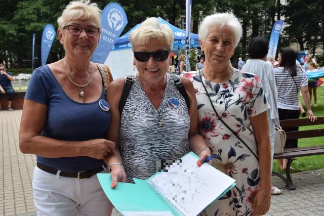Panie z LKP zbierają podpisy pod wniosek o nadanie rondu imienia Danuty Ziętary