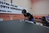 Ośrodek w Owińskach - Niewidomi grają w tenisa [ZDJĘCIA]