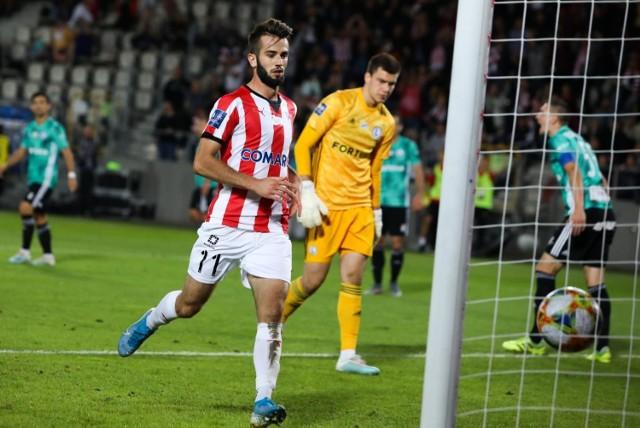 We wrześniu Cracovia przegrała w lidze u siebie z Legią 1:2 po golu Mateusza Wdowiaka