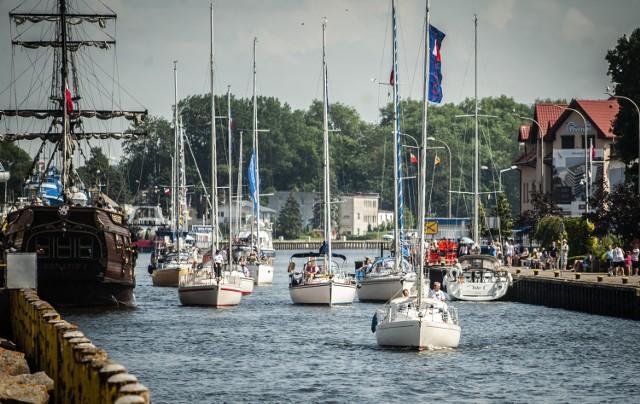 W darłowskim porcie odbyły się regaty żeglarskie w klasie Optymist o puchar burmistrza Darłowa. Zorganizowano również paradę jachtów po redzie  portu Darłowo.