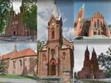 Zabytkowe kościoły w Kujawsko-Pomorskiem na Google Street View [zdjęcia]
