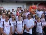 Na pikniku olimpijskim w Warszawie nie zabrakło SKS JANTAR z Racotu ZDJĘCIA