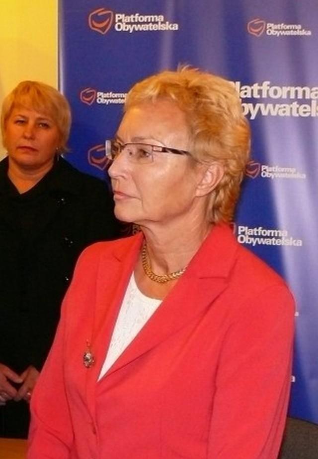 Lena Kolarska-Bobińska otwiera swoje biuro poselskie w Biłgoraju.