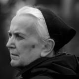 Zmarła siostra Klara z klasztoru sióstr urszulanek w Sieradzu