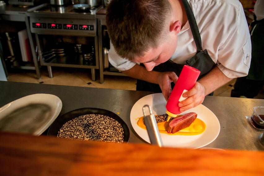 Restauracja Chaps Popcorn Z Prosa Puder Z Groszku A W