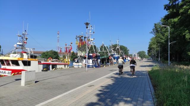 Deptak z Darłowa do Darłówka to miejsca  idealne na spacer lub przejażdżkę rowerową.