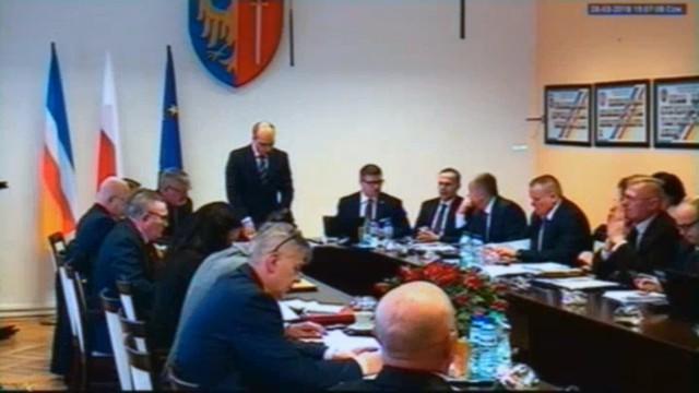 Zapis z sesji Rady Miasta w Żorach