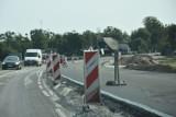 Utrudnienia na drodze krajowej nr 25 między Brzozą a Chmielnikami. Obowiązuje ruch wahadłowy