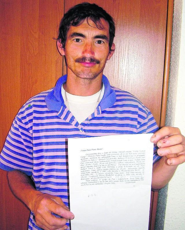 Dzięki temu listowi Pawłowi udało się nawiązać kontakt ze swoim rodzeństwem