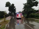 Po nawałnicy sztab kryzysowy w gminie Sędziejowice ZDJĘCIA